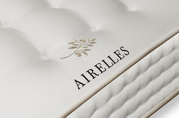 Matelas Airelles créé spécialement pour Airelles Collection